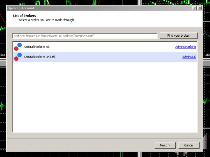 Jak si otevřít MT5 demo účet