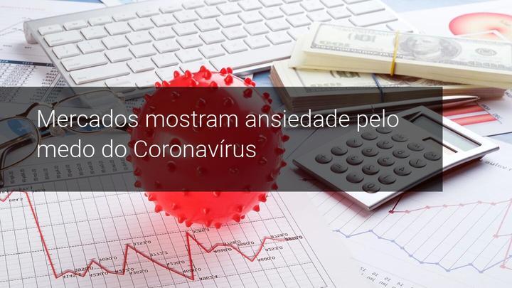 Mercados mostram ansiedade pelo medo do Coronavírus - Admiral Markets