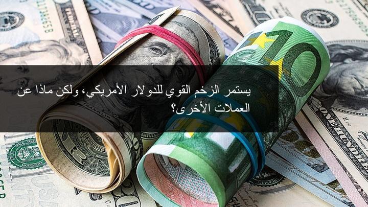 استمرار الزخم في مؤشر الدولار الامريكي