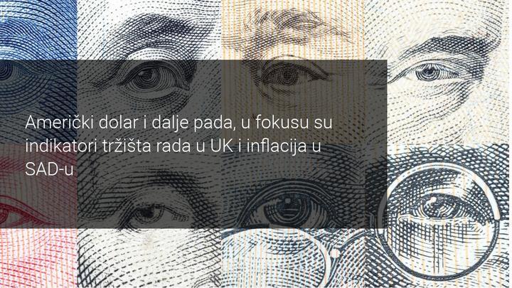 rast eurusd valutnog para