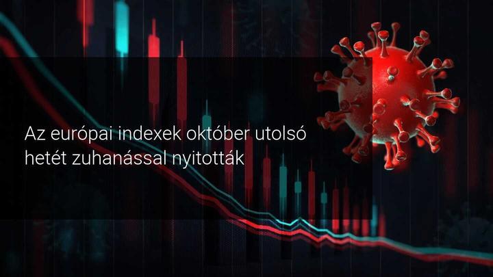 Az euórpai indexek zuhannak október végén