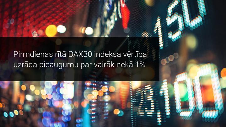 Ziemassvētku brīvdienās saņemtas pozitīvas ziņas finanšu tirgiem