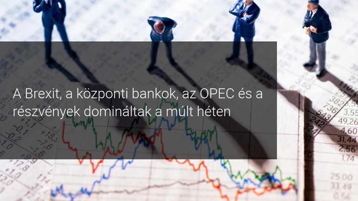 Brexit, központi bankok, OPEC