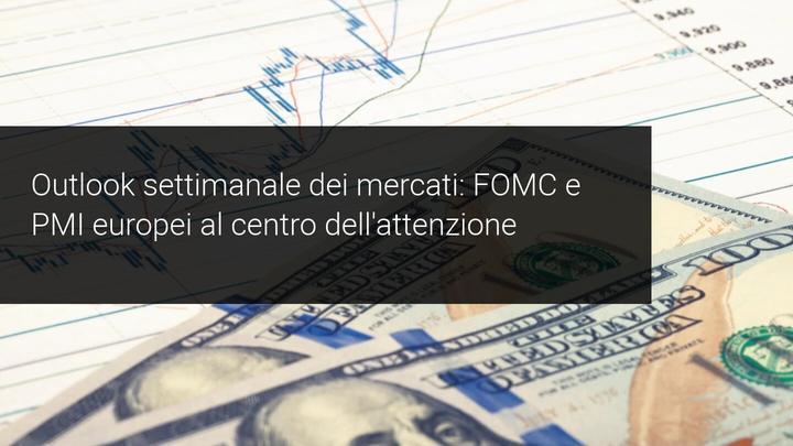 PMI e dati FMOC per la settimana a venire