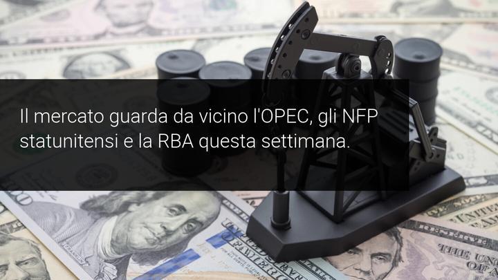 OPEC NFP RBA