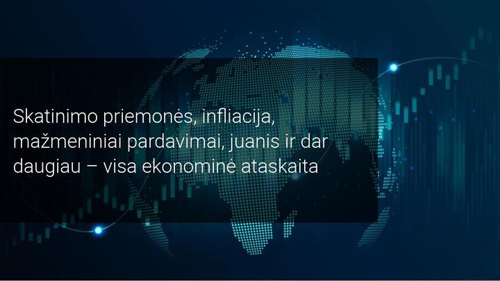 Savaitinė rinkos apžvalga: D. Trumpo skatinimo priemonės ir pasaulio ekonomikos duomenys