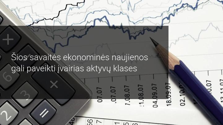 Savaitinė rinkos apžvalga: dėmesio centre BOC, BOJ, ECB ir įmonių pajamos