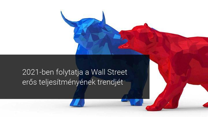 Technikai Elemzés 2021 január 4 Wall Street