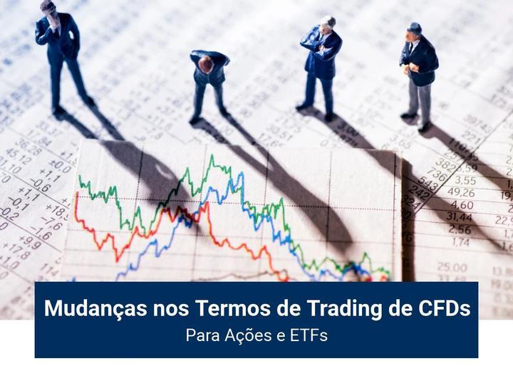 Mudanças nos Termos de Trading de CFDs - Admiral Markets
