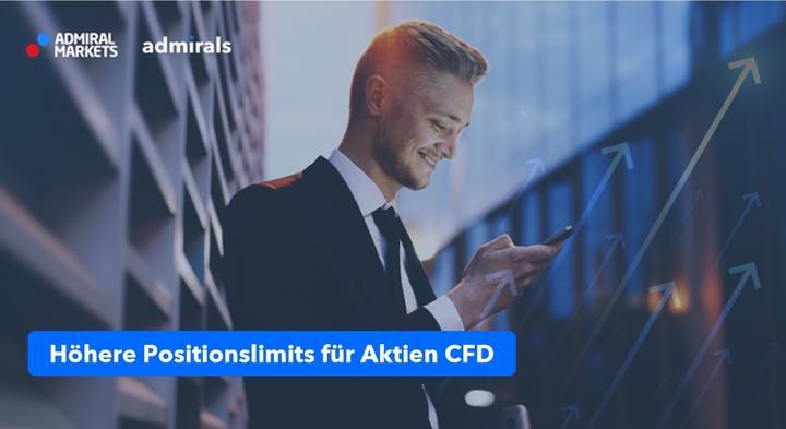 Neue Aktien CFD Positionslimits bei Admirals