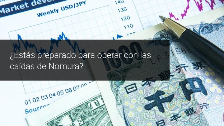 Las acciones de Nomura caen en Tokio