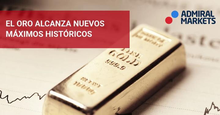 oro nuevo maximo historico