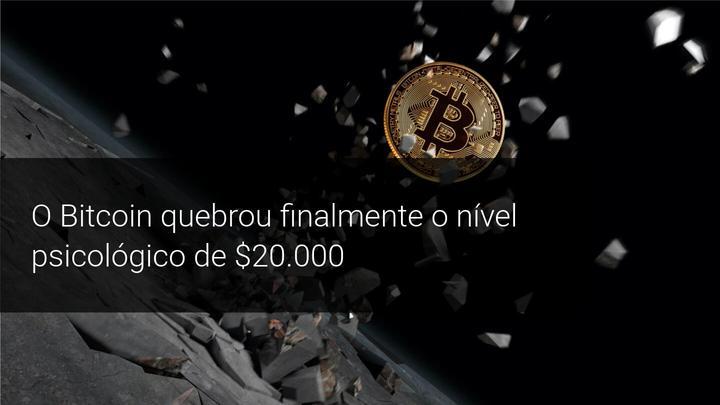 O Bitcoin quebrou finalmente o nível psicológico de $20.000 - Admiral Markets