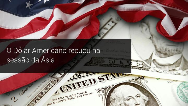 O Dólar Americano recuou na sessão da Ásia - Admiral Markets