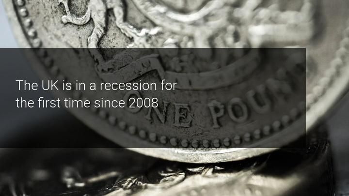 Reino Unido em recessão desde 2008 - Admiral Markets