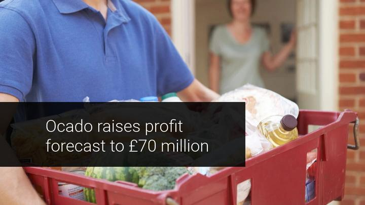 Ocado's Profit Forecast Hiked in the Run Up to Christmas