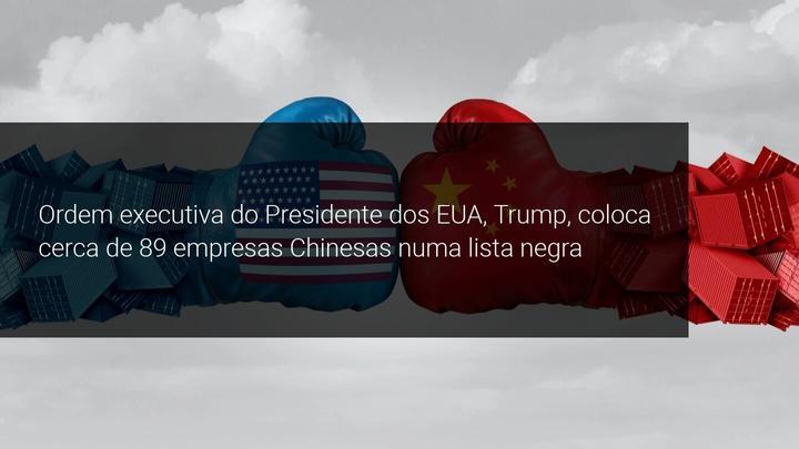 Ordem executiva do Presidente dos EUA, Trump, coloca cerca de 89 empresas Chinesas numa lista negra - Admiral Markets