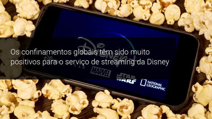 Os confinamentos globais têm sido muito positivos para o serviço de streaming da Disney - Admiral Markets