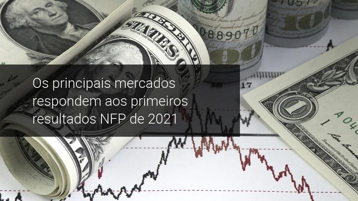 Os principais mercados respondem aos primeiros resultados NFP de 2021 - Admiral Markets
