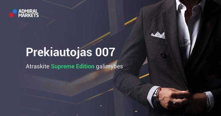 Prekiautojas 007