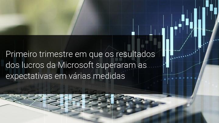 Primeiro trimestre em que os resultados dos lucros da Microsoft superaram as expectativas em várias medidas - Admiral Markets