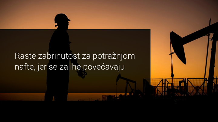 pada potražnja nafte