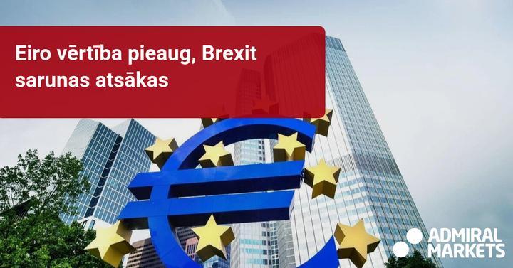 Nedēļas tirgus pārskats: galvenā uzmanība ECB, BOC un Brexit