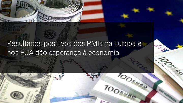 Resultados positivos dos PMIs na Europa e nos EUA dão esperança à economia - Admiral Markets