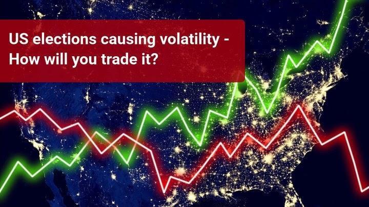 Rinkos ruošiasi dideliems kainų svyravimams dėl artėjančių JAV rinkimų