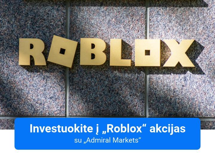 Investuokite į Roblox su Admiral Markets!