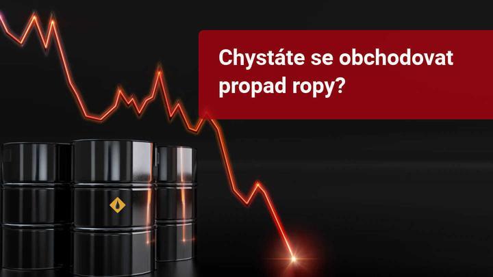 obchodní přiležitost na propadu ropy