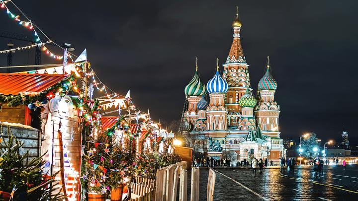 Търговските часове поради Коледа в Русия