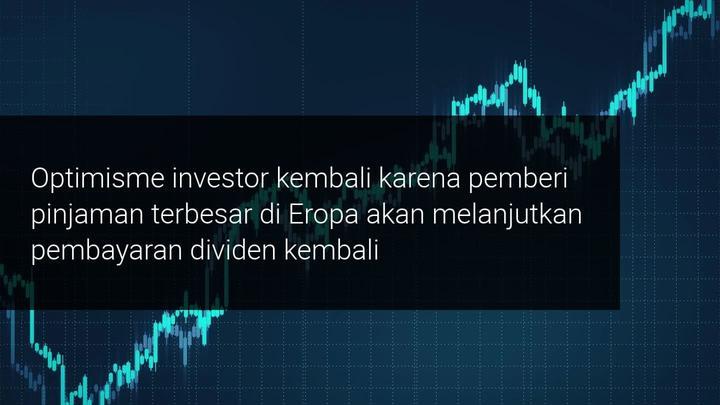 Saham HSBC melonjak 40% karena investor 'bertaruh' untuk dividen