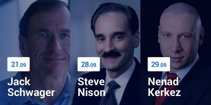 Jack Schwager, Steve Nison, Nenad Kerkez