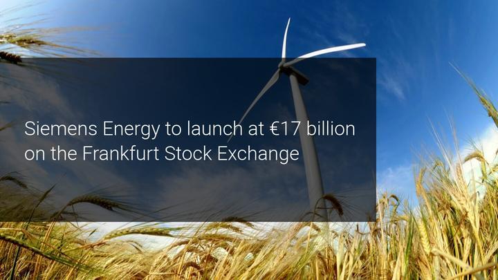 Siemens set to spin-off €17 billion energy unit