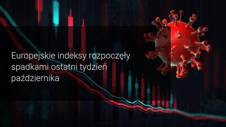 Spadki indeksy giełdowe