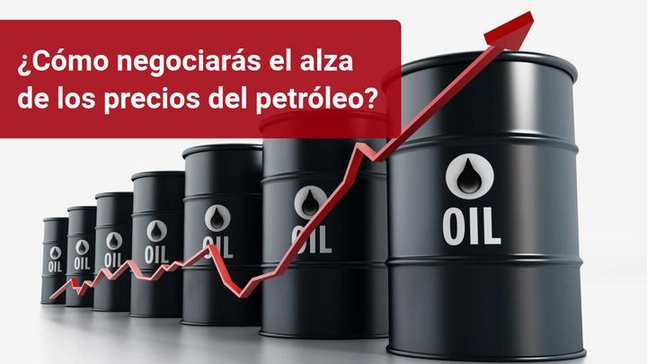 El precio del petróleo sube ante la caída de producción