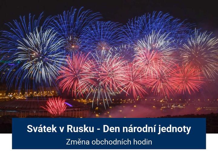 Svátek v Rusku
