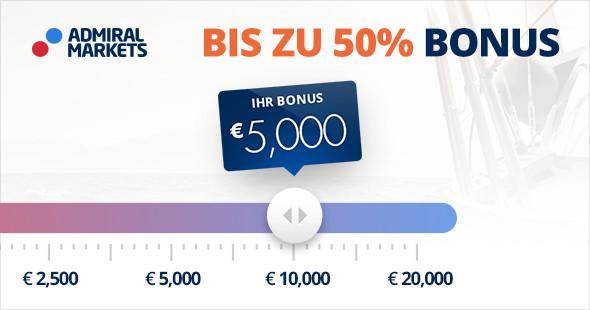 Forex Bonus bis zu 50 Prozent - Admiral Markets UK