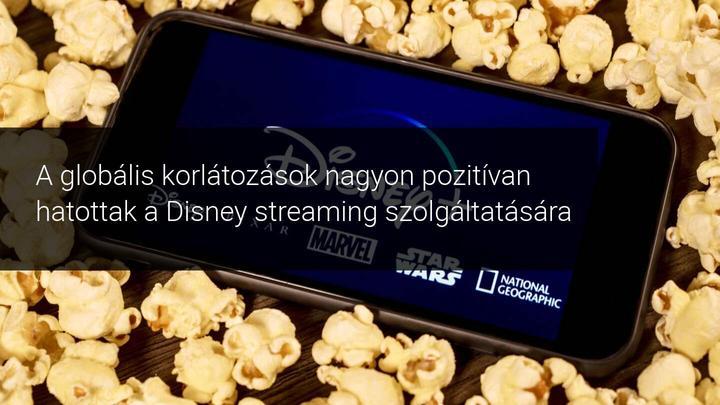 A Disney+ lehetővé teszi a Disney számára, hogy a világjárvány ellenére is profitot szerezzen