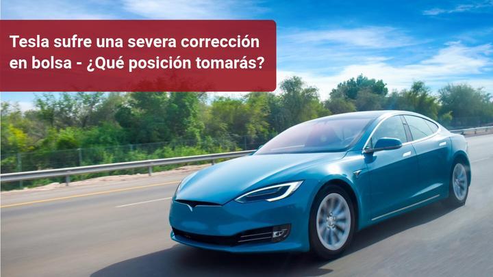 Tesla sufre un batacazo en bolsa