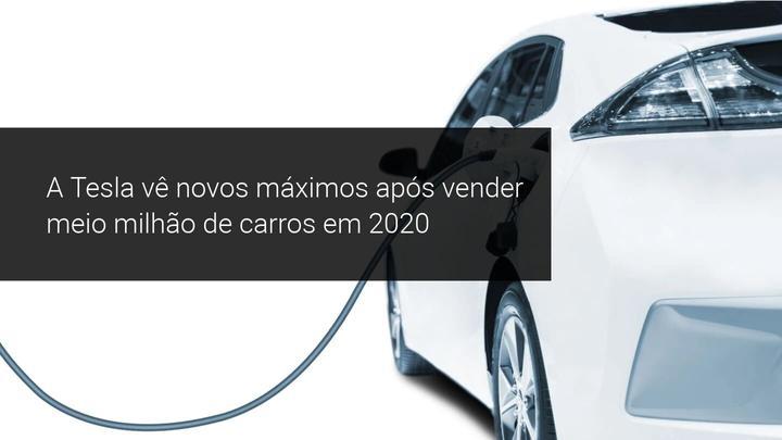 Tesla com novos máximos após vender meio milhão de carros em 2020 - Admiral Markets