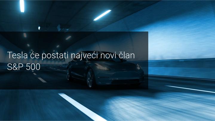 Tesla postaje novi clan SP500