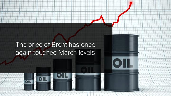 Brent returns to march levels, encouraged by vaccine advances
