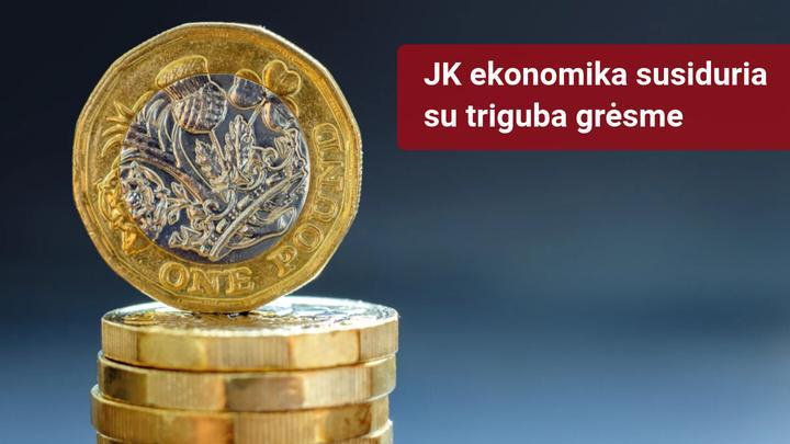 BOE svarsto, kaip sumažinti trigubą grėsmę GBP