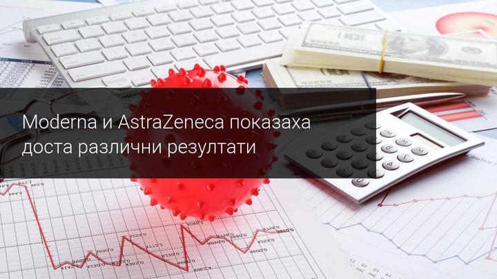 Програмата за ваксинация с AstraZeneca е под съмнение, докато Moderna успява