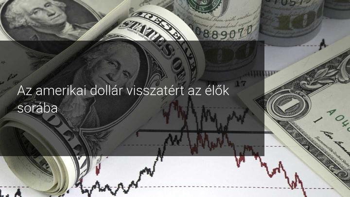 Amerikai dollár és a devizák