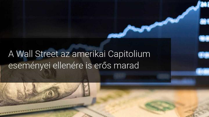 A Wall Street lendületben