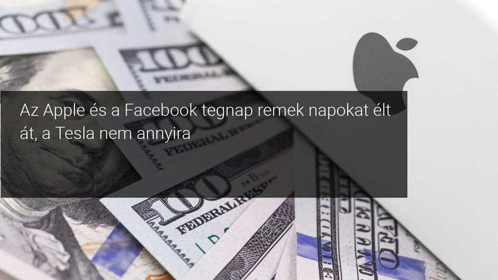 Apple Facebook Tesla