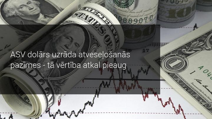 ASV dolāra pieaugums veicina izejvielu valūtu vērtības kritumu